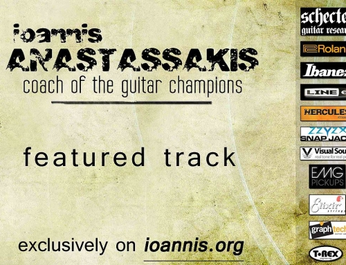 [AUDIO] The Promised Land  – Ioannis Anastassakis